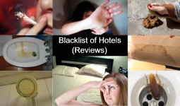 Blacklist of Hotels and Travel Guides (Reviews)